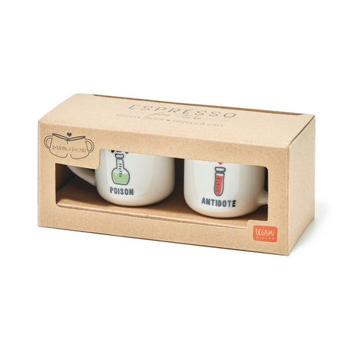 Legami Espresso For Two | Poison Box | Unique Gift Ideas for Her | for Mom | for Women | for Females | for Wife | for Sister | for Girlfriend | for Grandma | for Friends | for Birthday | Gifting Made Simple | Unique Gift Ideas for Him | for Dad | for Men | for Males | for Husband | for Brother | for Boyfriend | for Grandad