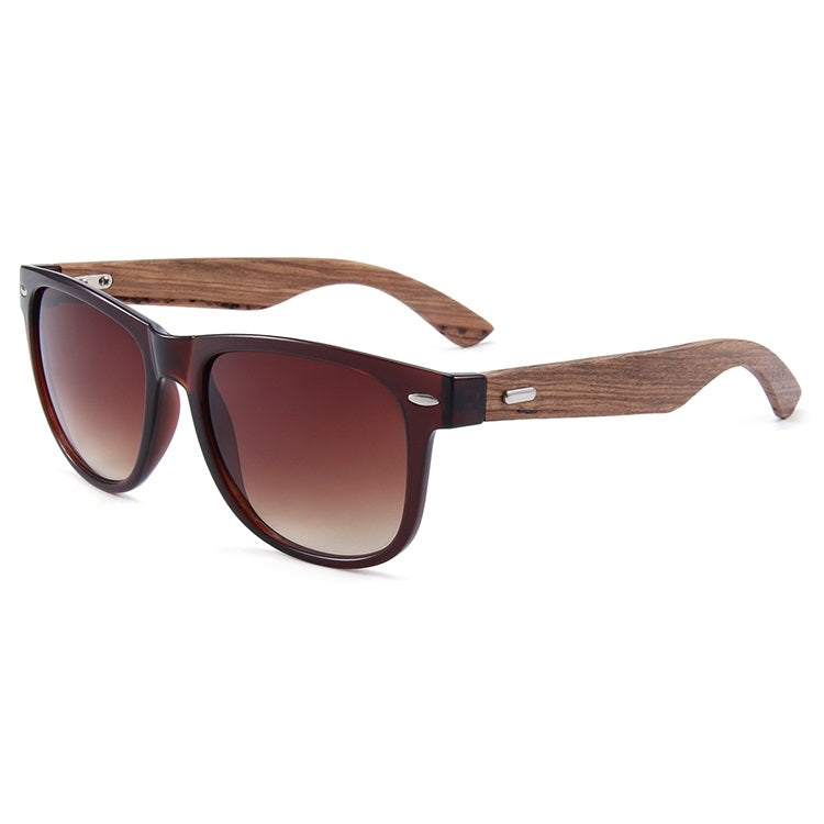 Ralferty Wood Sunglasses | Retro Brown | Cover | Gift Ideas For Him | For Men | For Boyfriend | For Dad | For Husband