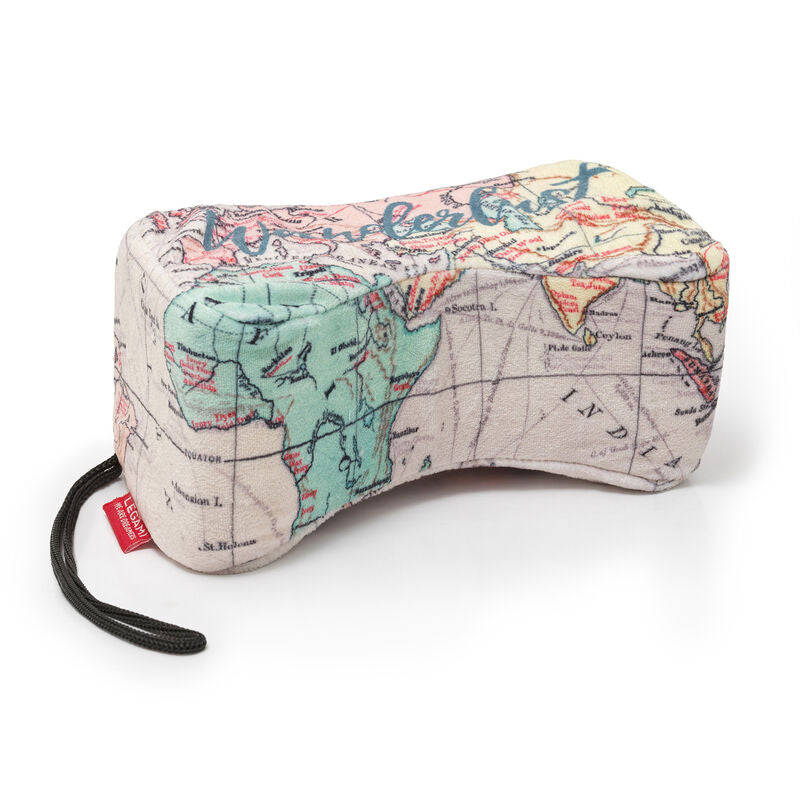 Legami Travel Pillow | Map Design | Unique Gift Ideas for Her | for Mom | for Women | for Females | for Wife | for Sister | for Girlfriend | for Grandma | for Friends | for Birthday | Gifting Made Simple