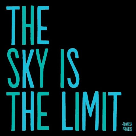 Quotable The Sky is the Limit Magnet Gift ideas Gifting Gift shop