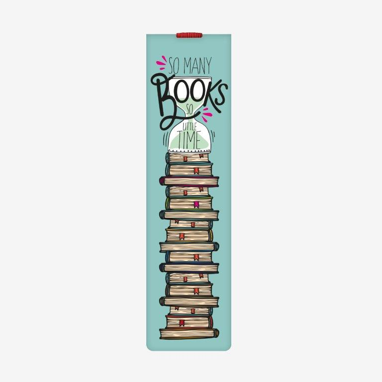 Legami Bookmark - So many books so little time - Gifts Gift Ideas Gifting Made Simple