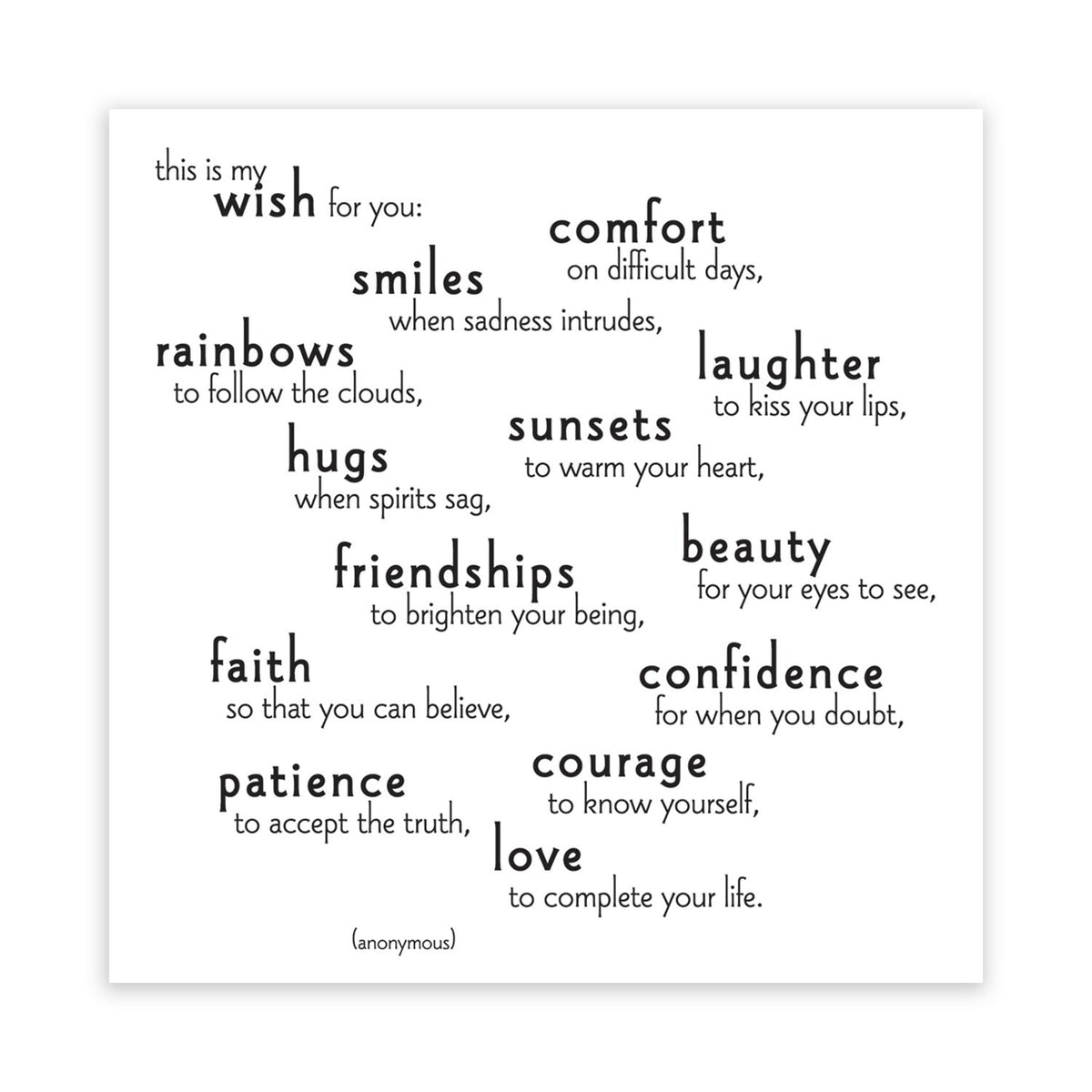 Quotable This Is My Wish For You Magnet Gift ideas Gifting Gift shop