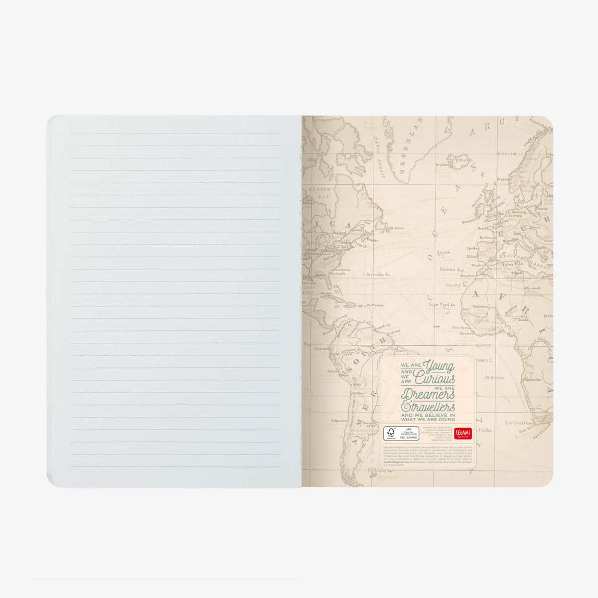 Legami Travel Notebook Last Page Gifts Gift ideas Gifting Made Simple