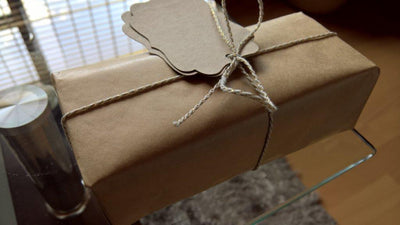 Kraft brown wrap