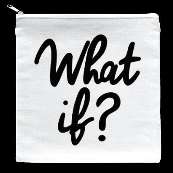 Quotable What if? Pouch Gift ideas Gifting Gift shop