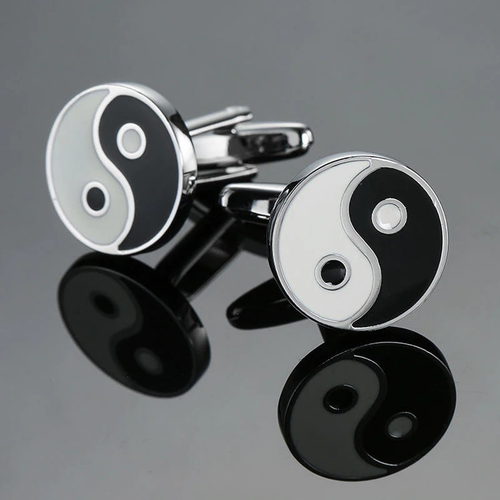 Cufflinks South Africa | Classic | Ying Yang | Unique Gift Ideas for Him | for Dad | for Men | for Males | for Husband | for Brother | for Boyfriend | for Grandad | for Friends | for Birthday | Gifting Made Simple