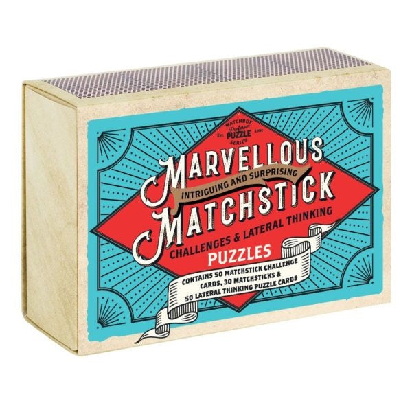 Professor Puzzle | Marvelous Matchstick Puzzle | Unique Gift Ideas for Her | for Mom | for Women | for Females | for Wife | for Sister | for Girlfriend | for Grandma | for Friends | for Birthday | Gifting Made Simple | Unique Gift Ideas for Him | for Dad | for Men | for Males | for Husband | for Brother | for Boyfriend | for Grandad