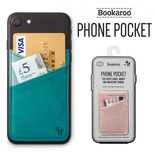 Bookaroo Phone Pocket | Cover | Unique Gift Ideas for Her | for Mom | for Women | for Females | for Wife | for Sister | for Girlfriend | for Grandma | for Friends | for Birthday | Gifting Made Simple | Unique Gift Ideas for Him | for Dad | for Men | for Males | for Husband | for Brother | for Boyfriend | for Grandad