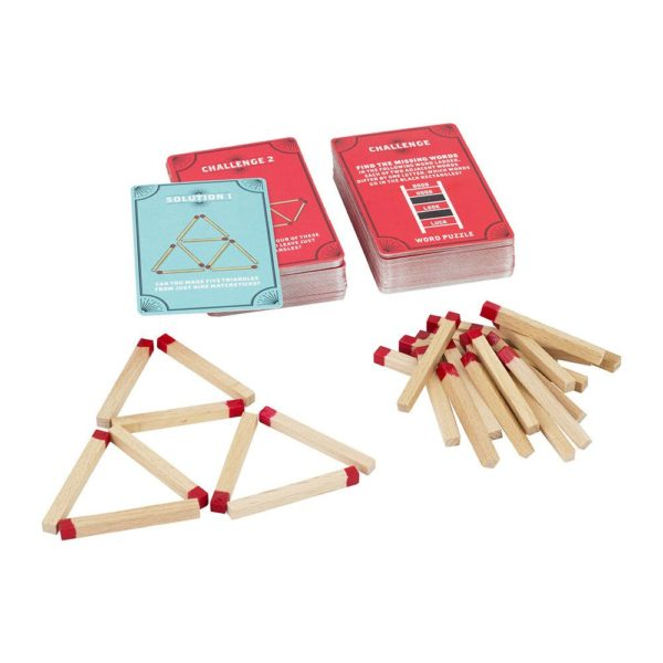 Professor Puzzle | Marvelous Matchstick Puzzle Open | Unique Gift Ideas for Her | for Mom | for Women | for Females | for Wife | for Sister | for Girlfriend | for Grandma | for Friends | for Birthday | Gifting Made Simple | Unique Gift Ideas for Him | for Dad | for Men | for Males | for Husband | for Brother | for Boyfriend | for Grandad