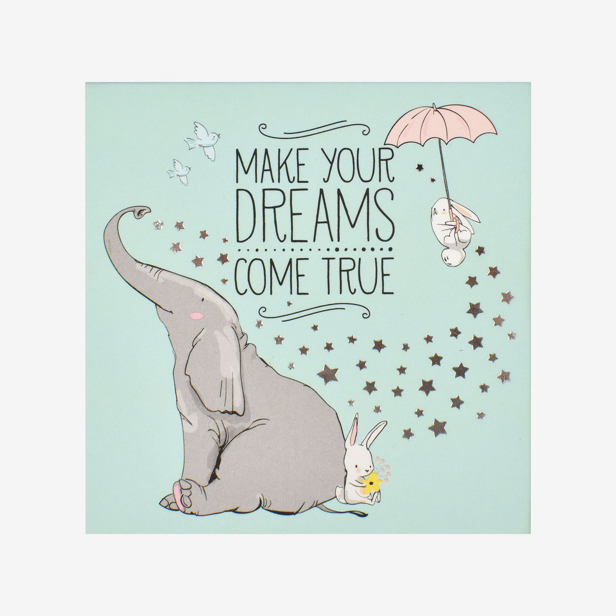 Legami Never Stop Dreaming Magnet 3 Pack Elephant