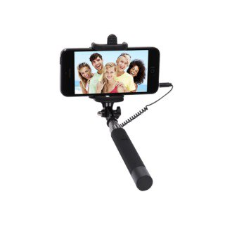 Pocket Click Stick Selfie Stick (Black)