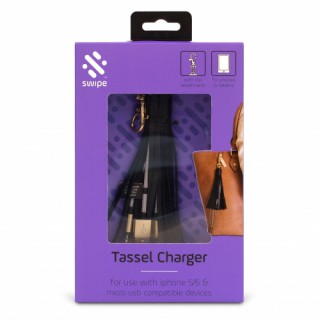Tassel Charging Cable 2-in-1