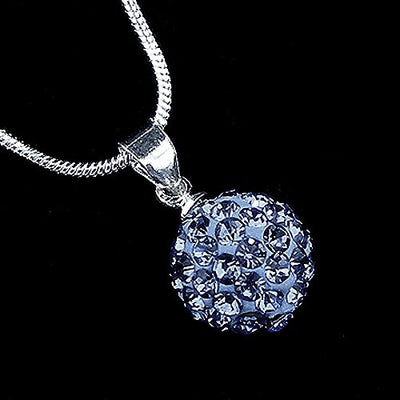metallic mermaid blue crystal necklace gifts gift ideas gifting made simple