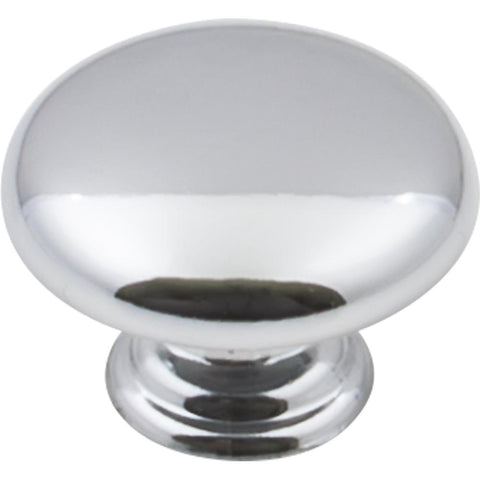 "1-3/16"" Diameter Mushroom Cabinet Knob. Packaged with one 8-32"
