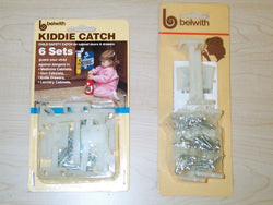 Child Cabinet Latch - 6 Pack