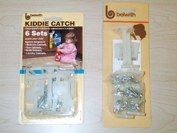 Child Cabinet Latch - 6 Pack - DecorHardware.com
