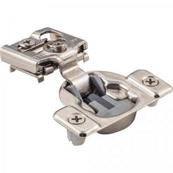 "Dura-Close 3/4"" Overlay Compact Soft Close Hinge w/ 8mm Dowels"
