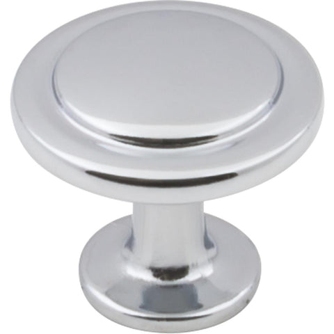 "1-1/4"" Diameter Cabinet Knob. . Finish: Polished Chrome"