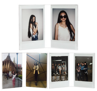 INSTAX MINI V-SHAPED ACRYLIC STAND FRAME