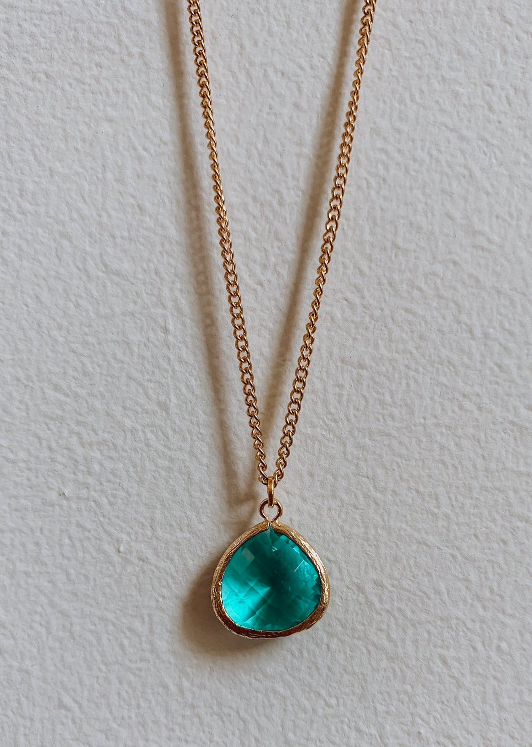 24k Gold Plated Zircon Necklace