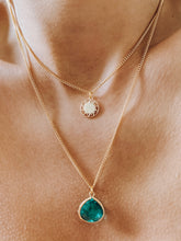 Load image into Gallery viewer, 24k Gold Plated Zircon Necklace