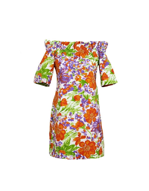 The Derby Dress in Vintage Floral