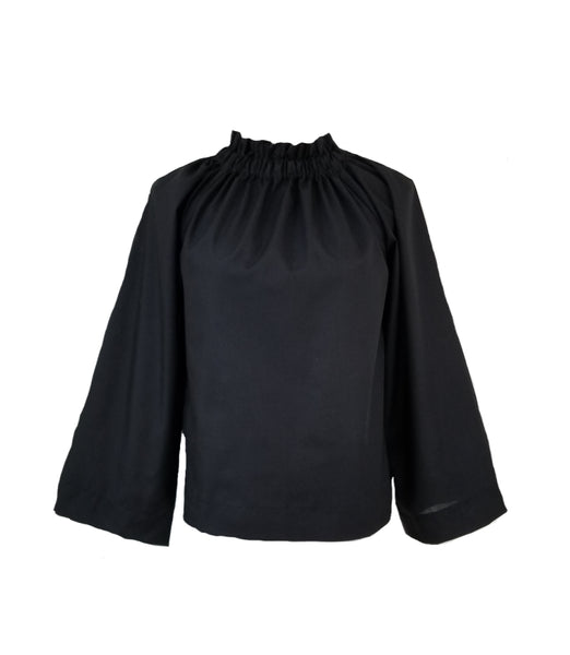 The Peak Top in Black