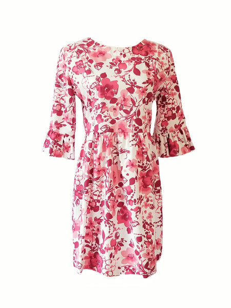 The Carolina Dress in Cherry Blossoms