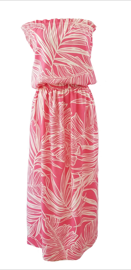 The Mini Derby Maxi dress in Palm Waves