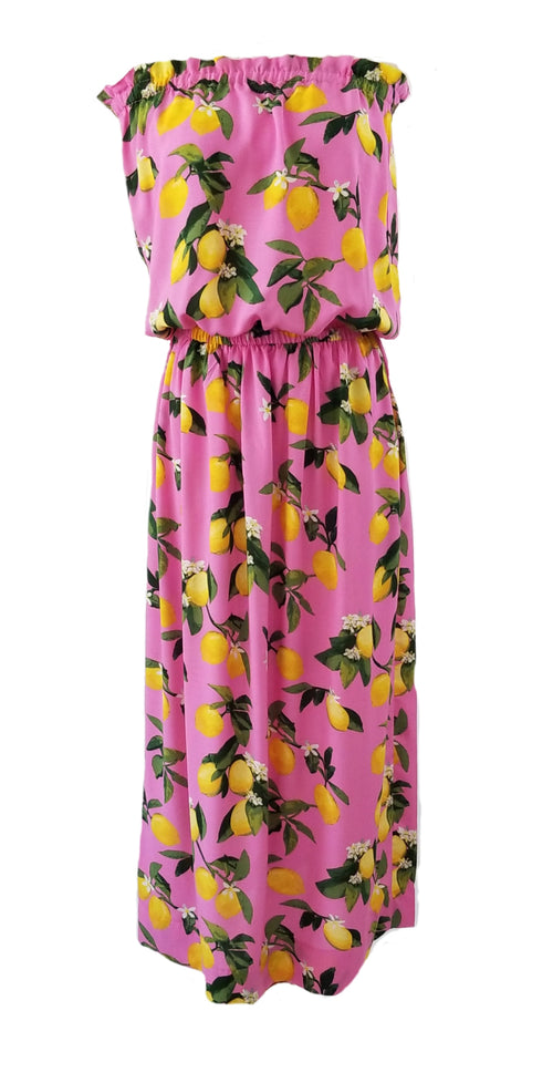 The Mini Derby Maxi dress in Pink Lemonade