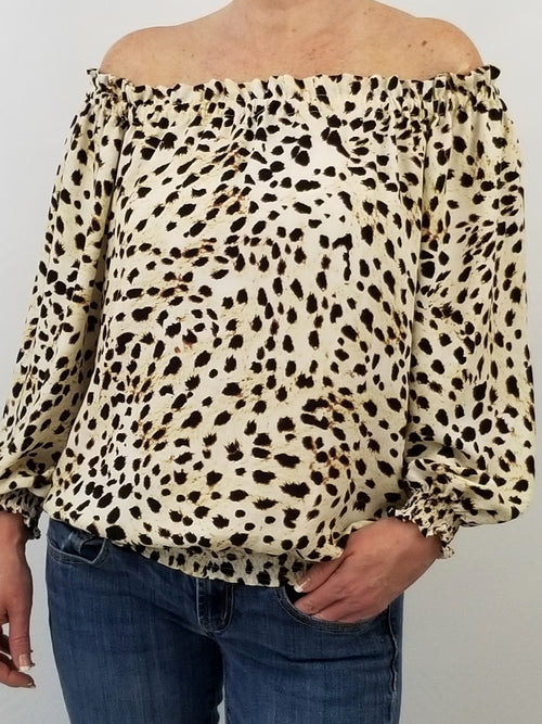 The Mini Derby Top in Spotted