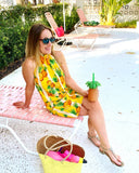 The Kiawah Dress in Cabana Queen