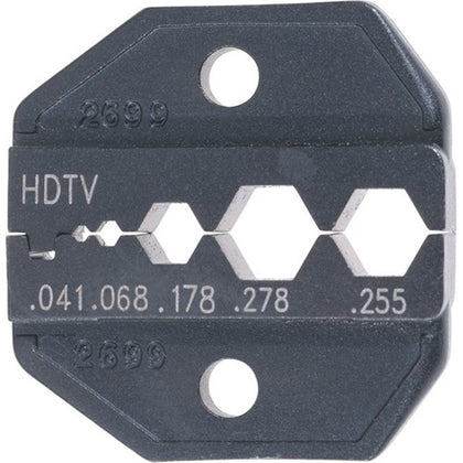 Universal HDTV Die for CrimpALL 8000/1300 Series Crimper