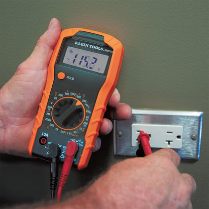 Test Kit with Multimeter, Non-Contact Volt Tester, Outlet Tester (69149)