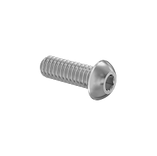 18-8 Stainless Steel Button Head Hex Drive Screws 3/4