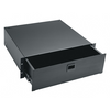 3-Space Rack Drawer - Black Brushed