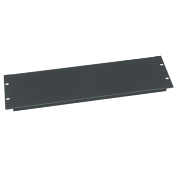 Flanged Blank Panels - 3 RU - 6 Pack