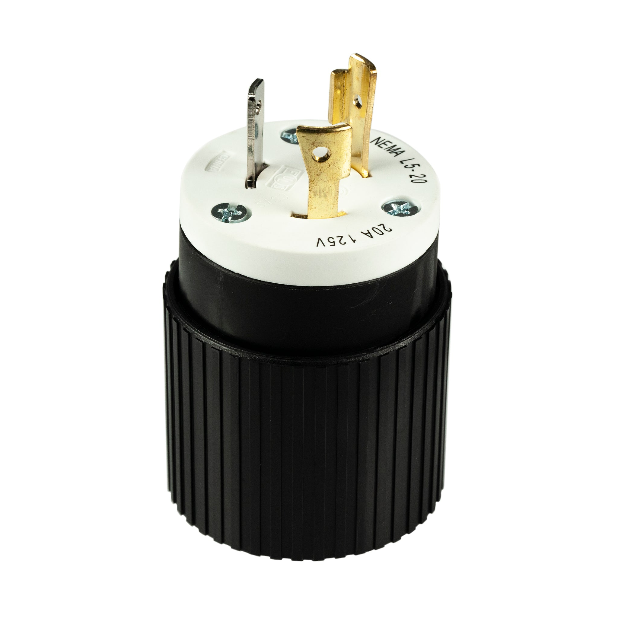 20A, 125VAC, 2 Pole 3 Wire Locking Plug