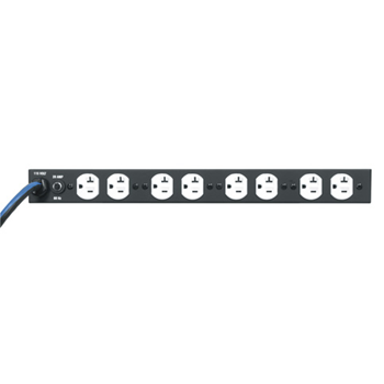 9-Outlet Vertical Power Strip - 20 Amps