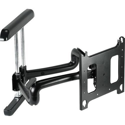 Large Flat Panel Swing Arm Wall Mount - Black