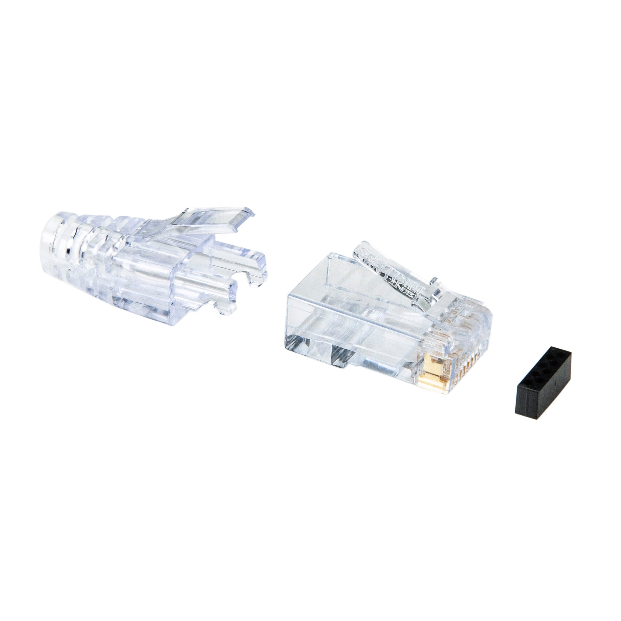 RJ45 Cat6 Male Plug Craftpak™ (25pk)
