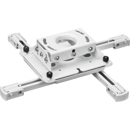 Inverted LCD/DLP Projector Ceiling Mount - White