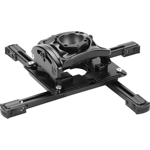Elite Universal Ceiling Mount for Projectors - Black