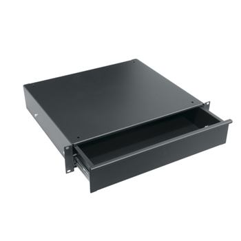 2SP Utility Rack Drawer - Black - 2 RU (UD2)