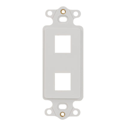 Decorex Insert with 2 Ports for EZ®/HD Style (IC107DI2WH)