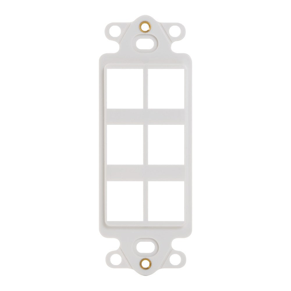 Decorex Insert with 6 Ports for HD Style (IC107DI6WH)