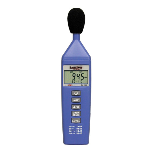 Check Mate - Battery Operated SPL Meter (CM-130)