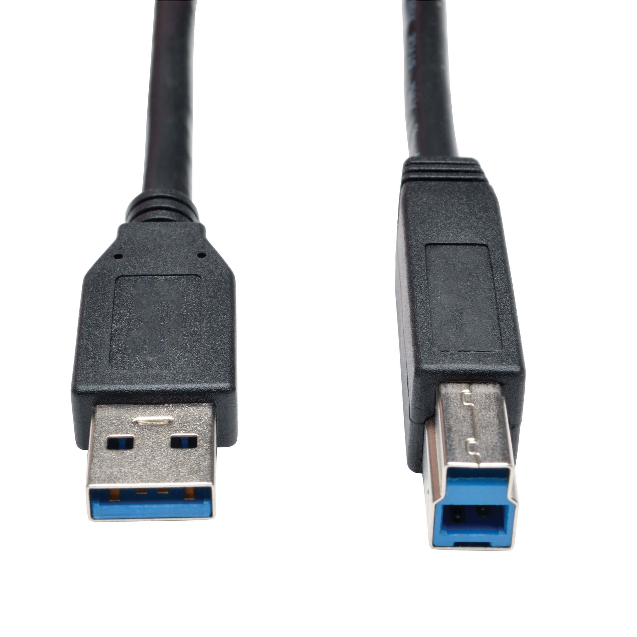 USB 3.0 SuperSpeed Device Cable (AB M/M) Black, (3', 6')