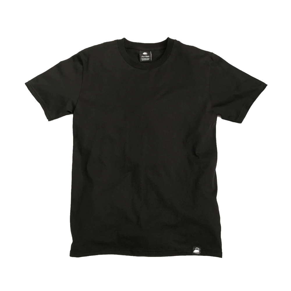 Black Canvas Tee - Iron & Stitch
