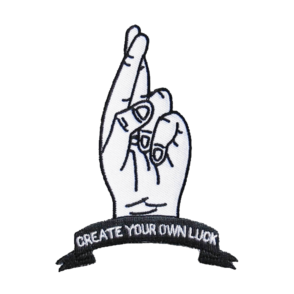 Create Your Own Luck - Iron & Stitch
